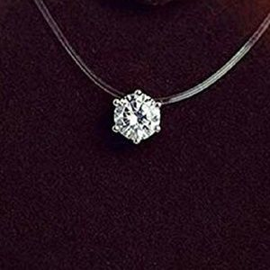 Jewelry - Floating Crystal Necklace